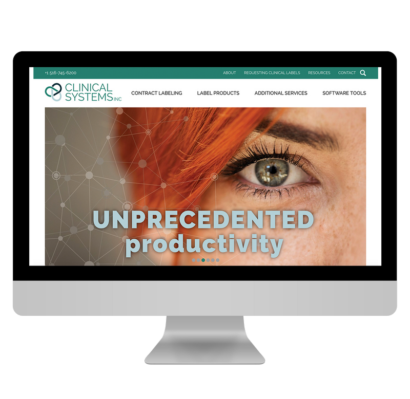 New Website Clinical Systems