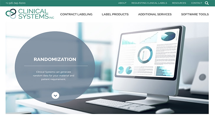 Clinical Systems Responsive Website